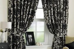 Черно-белые шторы