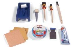 Материалы и инструменты для покраски окна