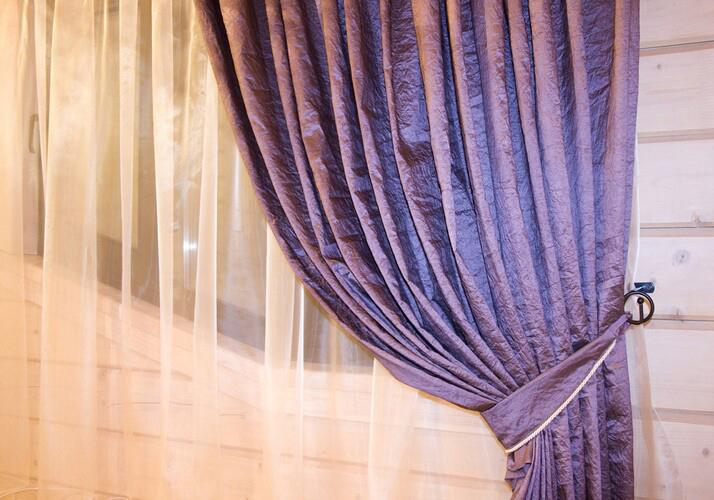 Как сделать самому подхват на штору
