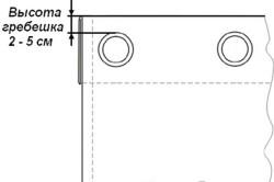 Установка люверсов на шторы