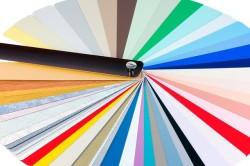Цветовая палитра жалюзи