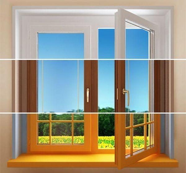 Окно в трех вариациях