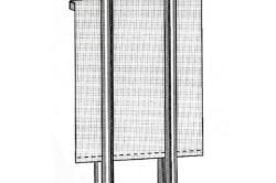 Крепление подвязок к рулонным шторам