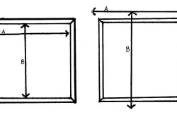 Определение размеров римской шторы в зависимости от способа крепления