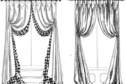 Черно-белый эскиз