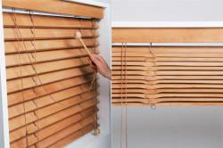 Изготовление деревянных жалюзи