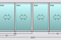 Характеристика алюминиевых раздвижных рам для лоджии