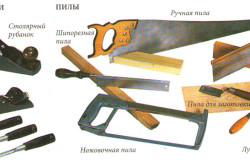 Инструменты для изготовления деревянного окна