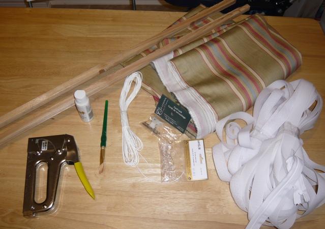 Как своими руками сделать римскую штору своими 169