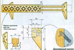 Схема деревянного карниза