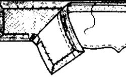 Схема пришивания подкладки ламбрекена