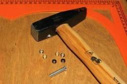 Молоток для установки люверсов