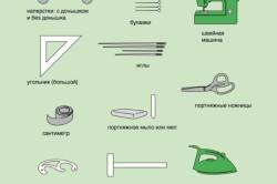 Инструменты для пошива тюля