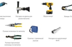 Инструменты для монтажа оконного отлива