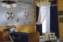 Морской дизайн комнаты