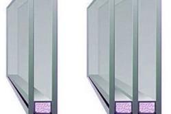 Схема однокамерного и двухкамерного стеклопакета