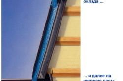 Схема работы оклада мансардного окна