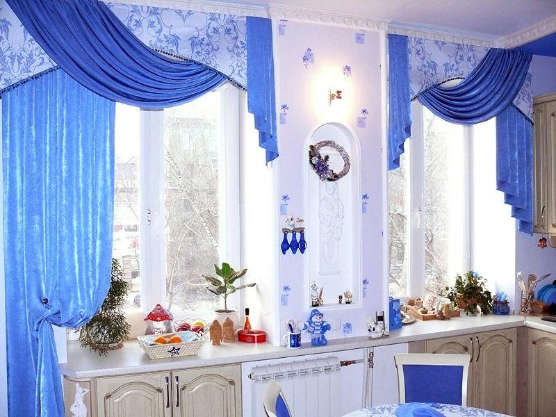 Занавески на кухне