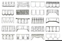 Разновидности штор