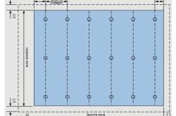 Схема римской шторы