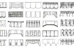 Основные виды складок