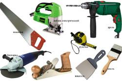 Инструменты для изготовления столешницы