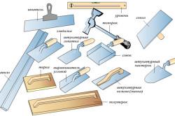Инструменты для штукатурки оконных откосов