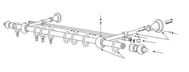 Схема установки типичного