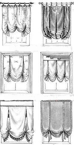 Императорская штора своими руками фото 247