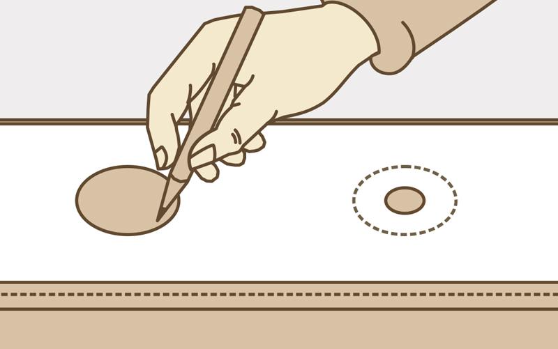 Как установить люверсы на шторы своими руками