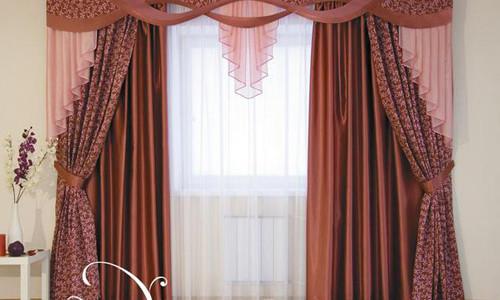 Как заложить складки на шторах