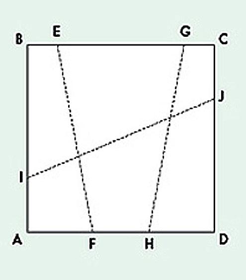 Схема для разрезания лоскутов