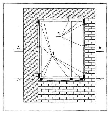 Схема расположения точек