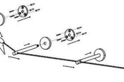 Схема установки струнного карниза