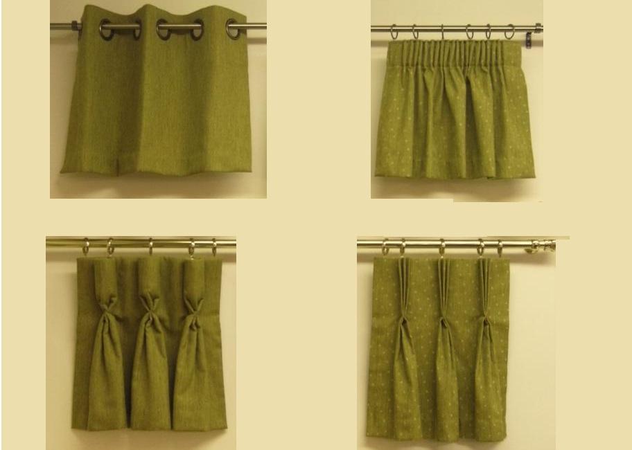Как сшить шторы со складками своими руками