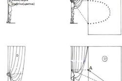 Как сделать красивые складки на шторах