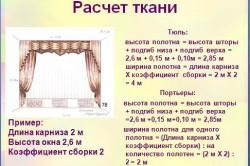 Raschet-tkani-dlja-shtor3-250x166 Сшить шторы из органзы своими руками: экономный вариант