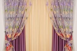 Sochetaniya-250x166 Сшить шторы из органзы своими руками: экономный вариант