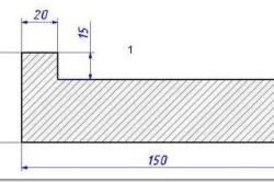 Г-образный профиль коробки