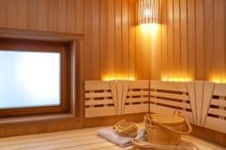 Расположение окна в бане