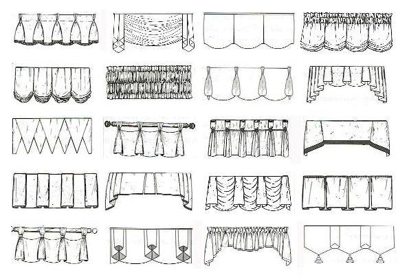 Как сделать складки на шторах 779