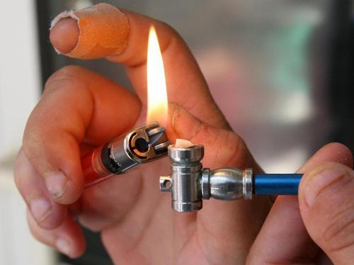 Курение крэка