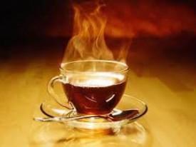 Чай горячий