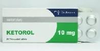 Передозировка Кеторолом
