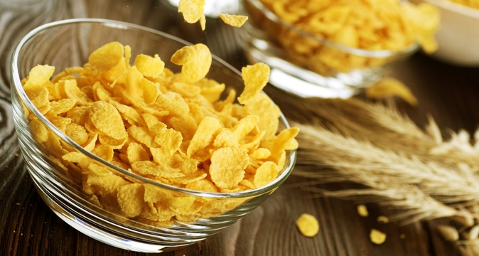 Для похудения кукурузные хлопья