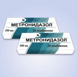 Отравление метронидазолом