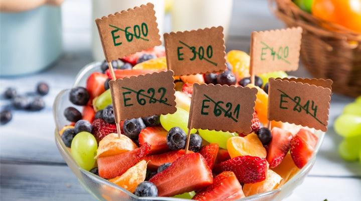 Опасные добавки Е в продуктах