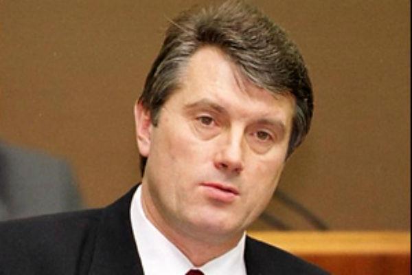 Ющенко до отравления
