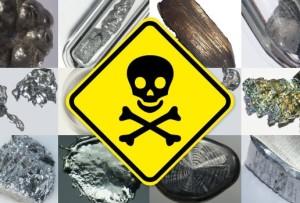 Отравление организма солями тяжелых металлов