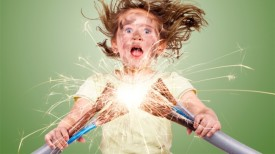 Удар элктрическим током